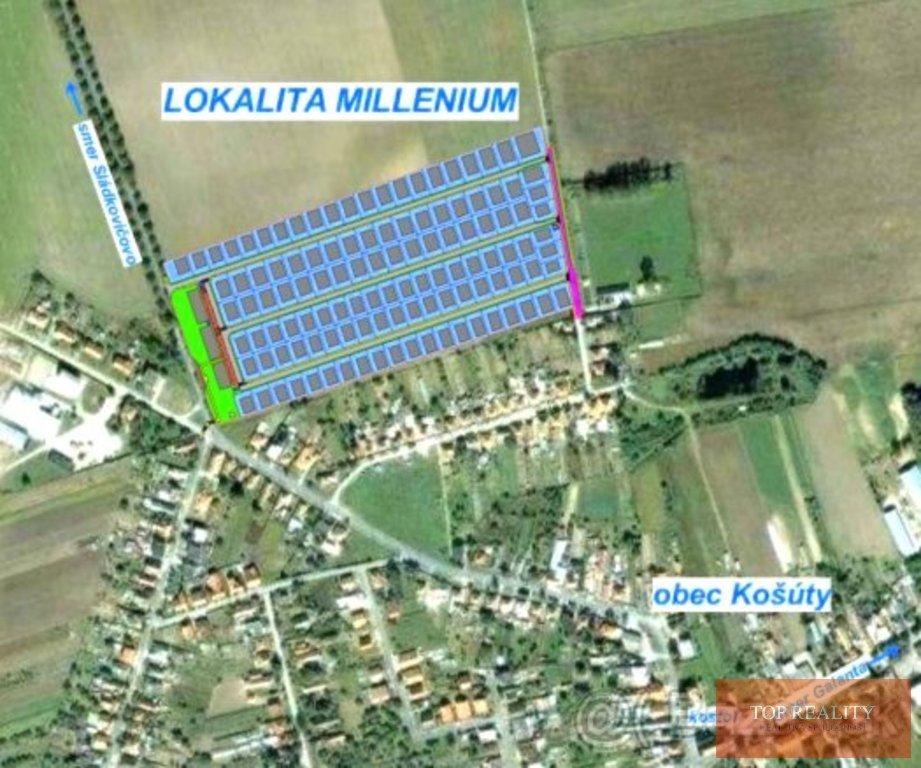 Topreality Rs.sk Milenium KoŠÚty Stavebný Pozemok Od 415 Do 975 M2 V Novej Lokalite V Obci Košúty 5