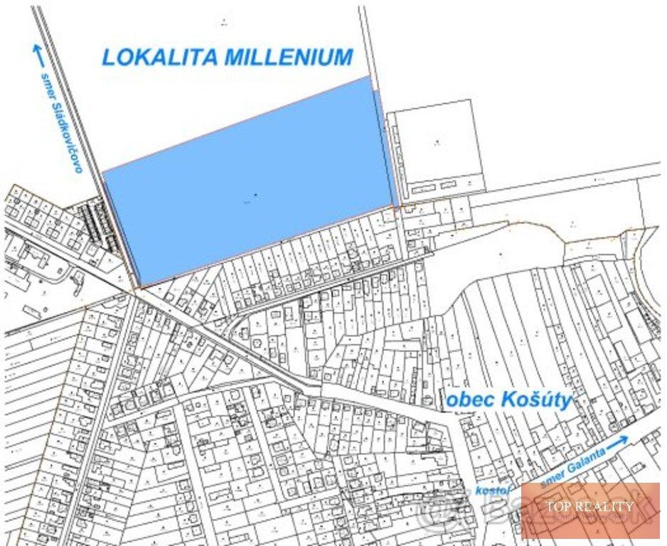 Topreality Rs.sk Milenium KoŠÚty Stavebný Pozemok Od 415 Do 975 M2 V Novej Lokalite V Obci Košúty 6