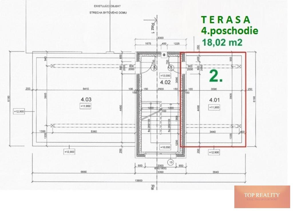 Topreality Rs.sk Novostavba 2 Izbový Byt 64 50 M2 Balkón Terasa 18 05 M2 Spolu 82 50 M2 Centrum Galanta 6