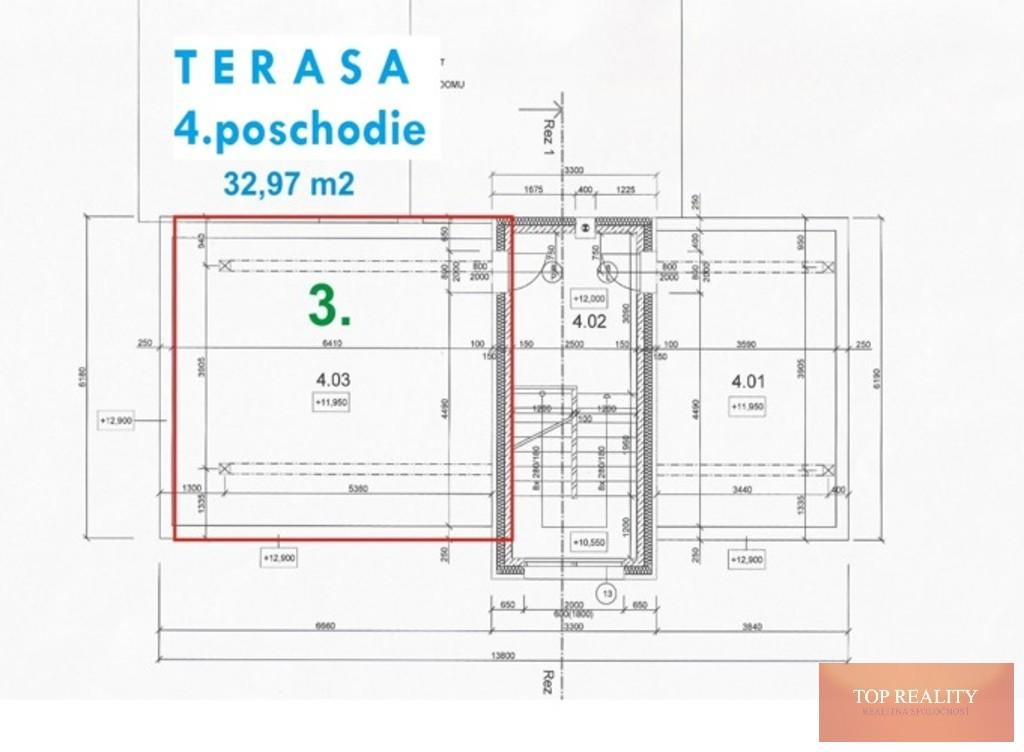 Topreality Rs.sk Novostavba 2 Izbový Byt 64 50 M2 Balkón Terasa 32 97 M2 Spolu 97 50 M2 Centrum Galanta 6