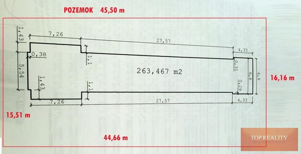 Topreality Rs.sk Obchodný Priestor 263 M2 Pozemok 722 M2 V širšom Centre Mesta Galanta 21