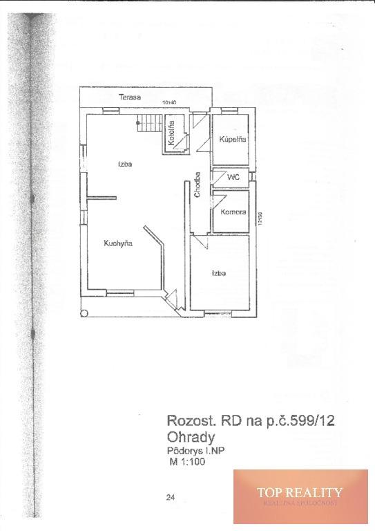 Topreality Rs.sk RezervovanÉ Na Predaj Rozostavaný Rodinný Dom V Obci Ohrady Okr Dunajská Streda 16