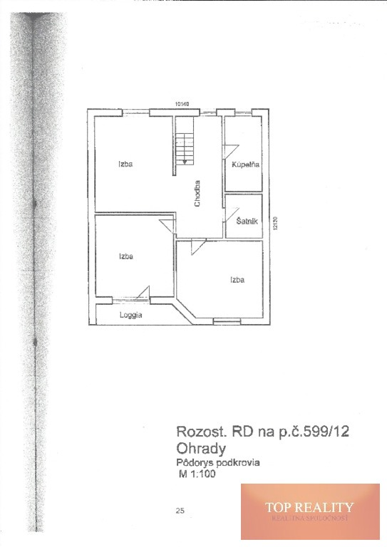 Topreality Rs.sk RezervovanÉ Na Predaj Rozostavaný Rodinný Dom V Obci Ohrady Okr Dunajská Streda 17