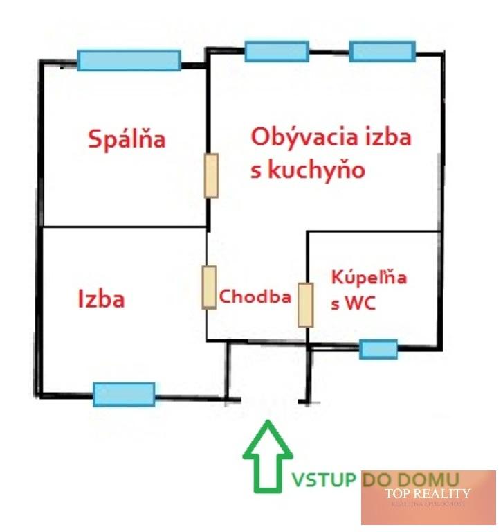 Topreality Rs.sk Super Ponuka Komplet Zrekonštruovaný 3 Izbový Rodinný Dom 82 M2 Pozemok 457 M2 Gáň 4