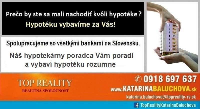 Katarina Baluchova 0918697637 Hypotéky Top Reality Galanta Www.katarinabaluchova.sk